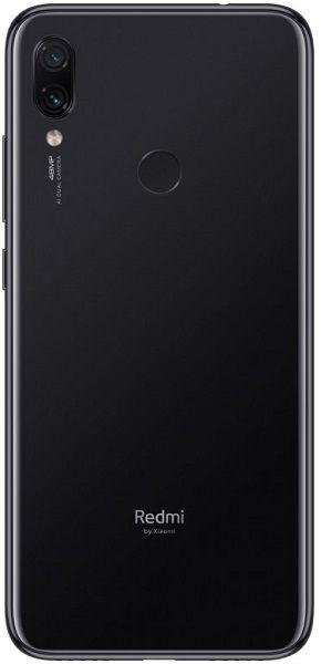 Xiaomi Redmi Note 7 4/64Gb Black (Черный)