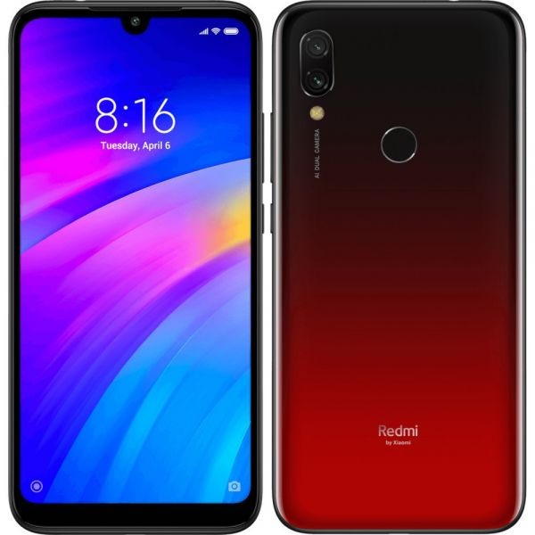 Xiaomi Redmi 7 4/64GB Red (Красный)
